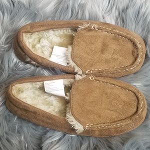 Other - Boys Faux Fur Lined Moccasins